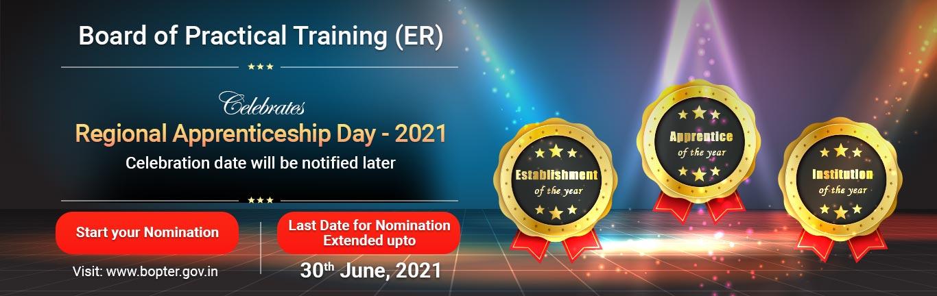 Regional Apprenticeship Day 2021, BOPT(ER), Kolkata